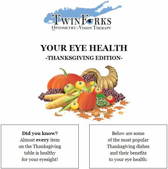 Eye-Healthy Thanksgiving Food!