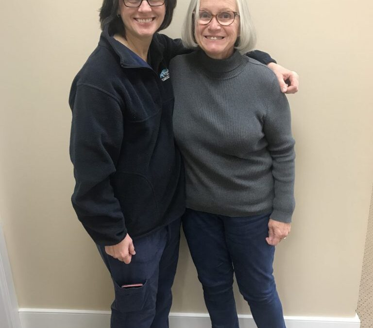 Great Job Completing Vision Therapy, Diane!