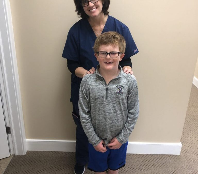 Great Job Completing Vision Therapy, Sean!